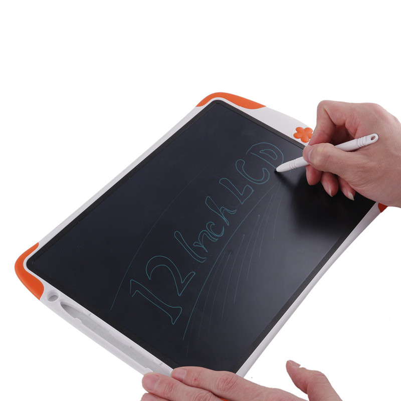 12 LCD Peinture Enfant Gift Children Painting Educational Toys Ultrathin Electronic Notepads Writing Board font b