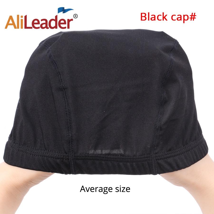 10Pcs/Lot Black Dome Cornrow Wig Caps Easier Sew In Hair Stretchable Weaving Cap Elastic Nylon Breathable Mesh Net hairnet