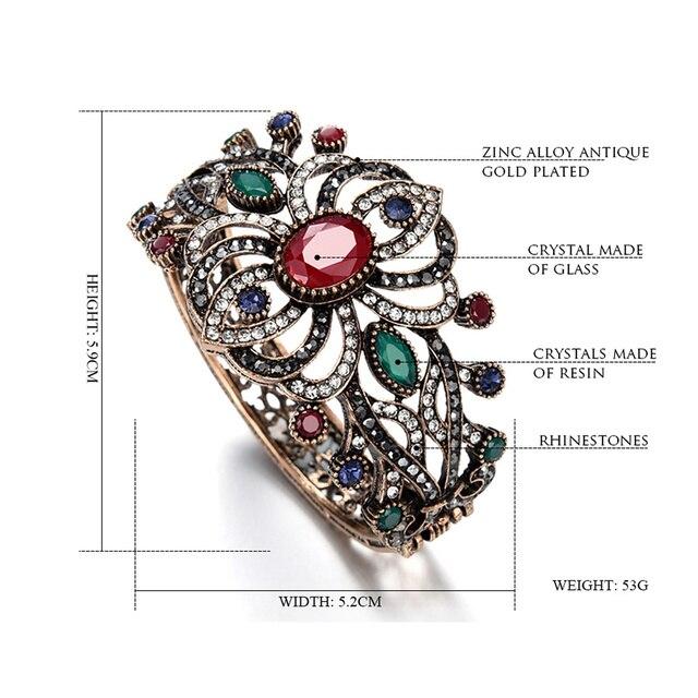 брендовые дизайнерские браслеты joyme с кристаллами большие фотография