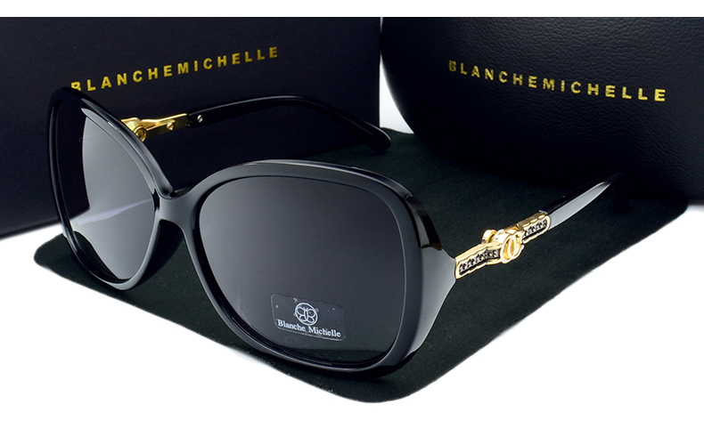 Nova Borboleta Moda de Alta Qualidade Óculos De Sol Mulheres UV400  Polarizada Óculos De Sol Da Marca Designer Lentes Degradê Óculos de Sol Com  Caixa 158471e30f