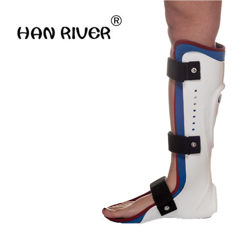 HANRIVER Support ankle fracture, fixed gear leg, foot foot joints with a fixed belt dislocated fracture gesso splint ankle support