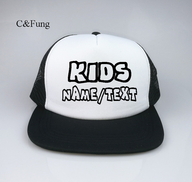 Custom KIDS hip hop Hats Customizable snapback adjustable Birthday Parties  Special Occasions personalized flat brim hats 7ce0e1046e3