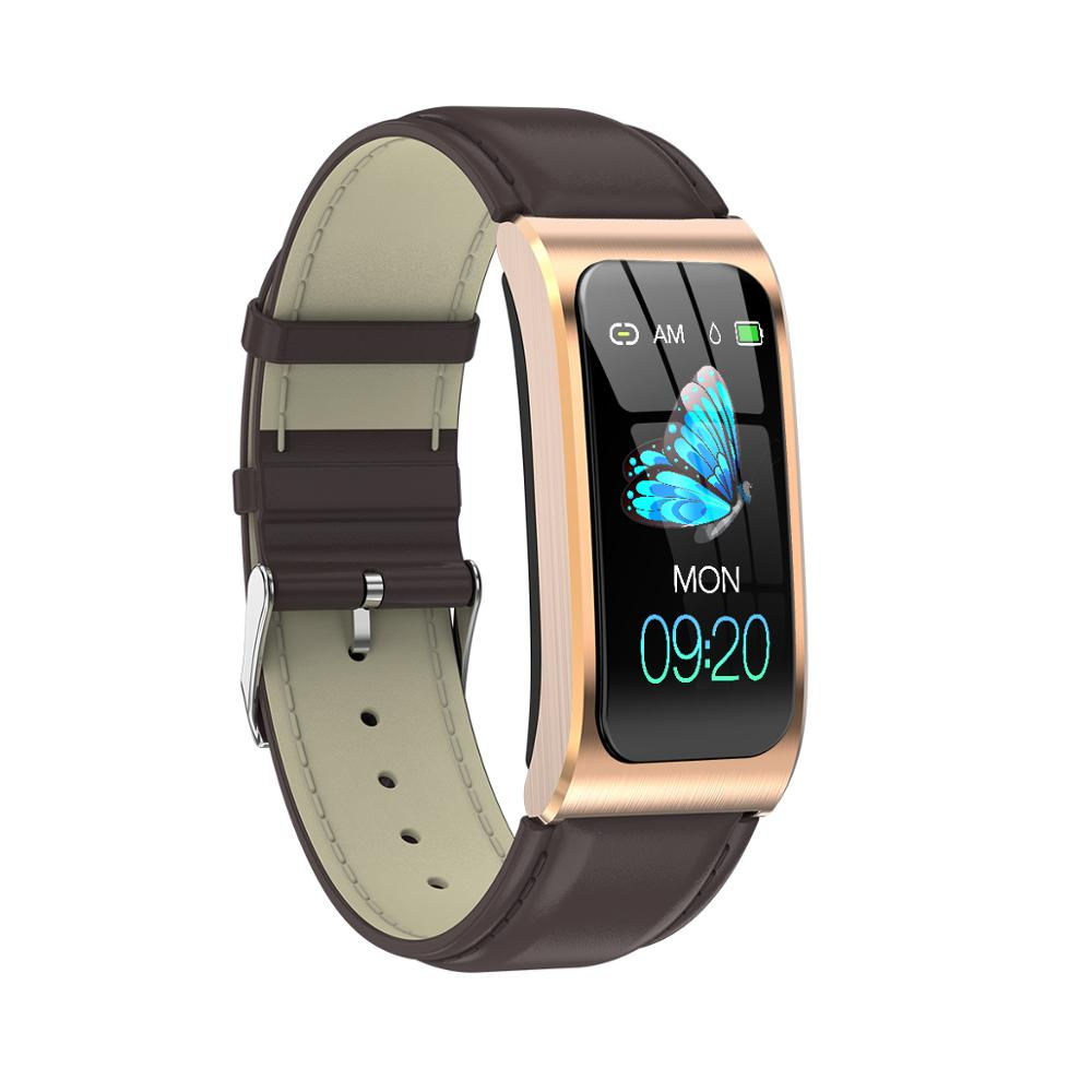 MELANDA women smart watch 1.14″ IP68 waterproof heart rate stopwatch clock fitness tracker watches PK X3 S2 For Android IOS