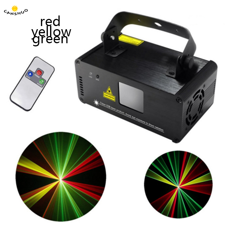 CANSHUO DM-RGY200 Mini IR Remote 8 CH DMX512 Laser Stage Lighting Scanner DJ Disco Party Show Projector Equipment lazer Lighting цена