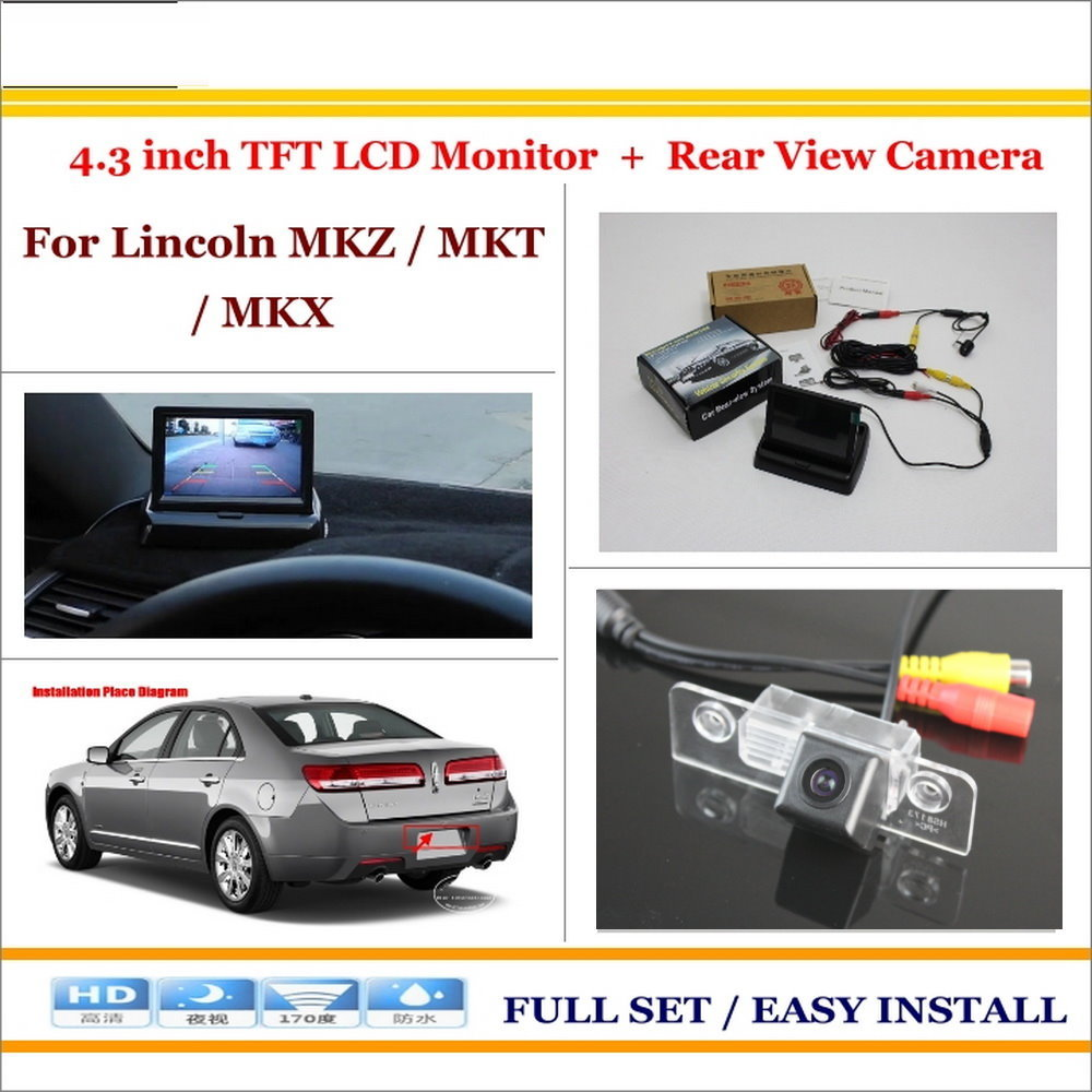 In Car 43 Color Lcd Monitor Rear Back Up Camera 2 1 Park Wireless Pillow Tft Wiring Diagram Parking System For Lincoln Mkz Mkt Mkx