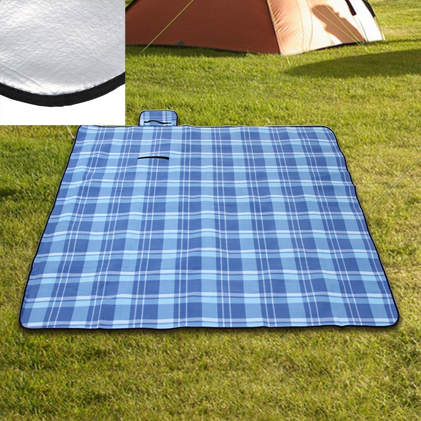 200*200 cm aluminium imperméable à l'eau pliant pique-nique tapis Camping plage Pad étanche à l'humidité couverture extérieure matelas