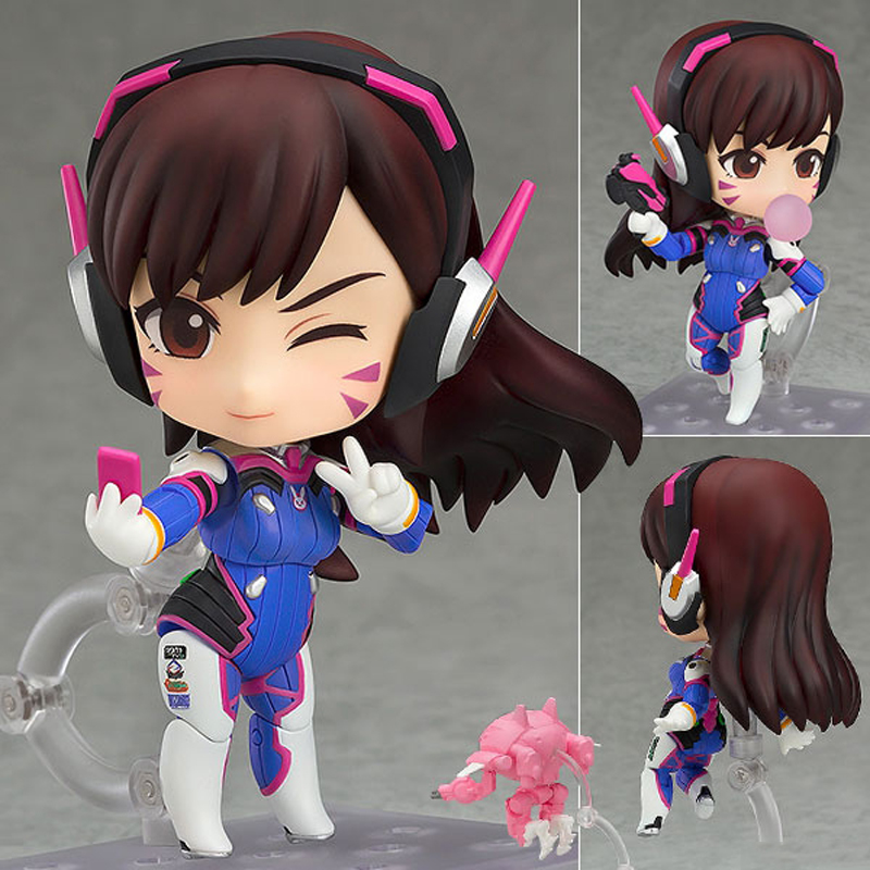 100% Original OW GSC DVA and Mecha Action Figure Model Toy Kinderen Speelgoed Geschenken Collectie Tracer PVC 10CM Game Figuur цена 2017