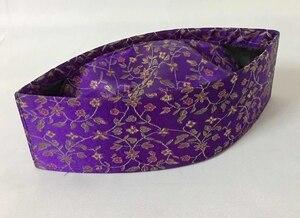 Image 4 - New print flower pattern Men Muslim Cap Turban Islamic Hat size ,56,58,59,60