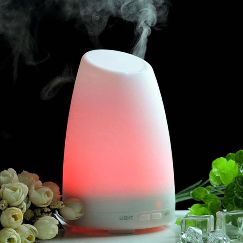 Ultrasonic Aroma Diffuser Humidifier Electric Essential Oil Aromatherapy Light Changing Color Mist Maker Refresh hot sale humidifier aromatherapy essential oil 100 240v 100ml water capacity 20 30 square meters ultrasonic 12w 13 13 9 5cm