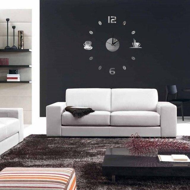 2017 Neue Ankunft Moderne Kunst Diy Personalisierte Acryl Wanduhren  Wohnzimmer Spezielle Dekorative Uhr