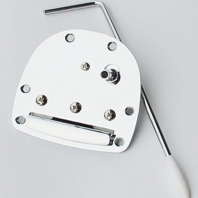 Jazzmaster /& Mustang inc screws Guitar tremolo tailpiece in Black for Jaguar