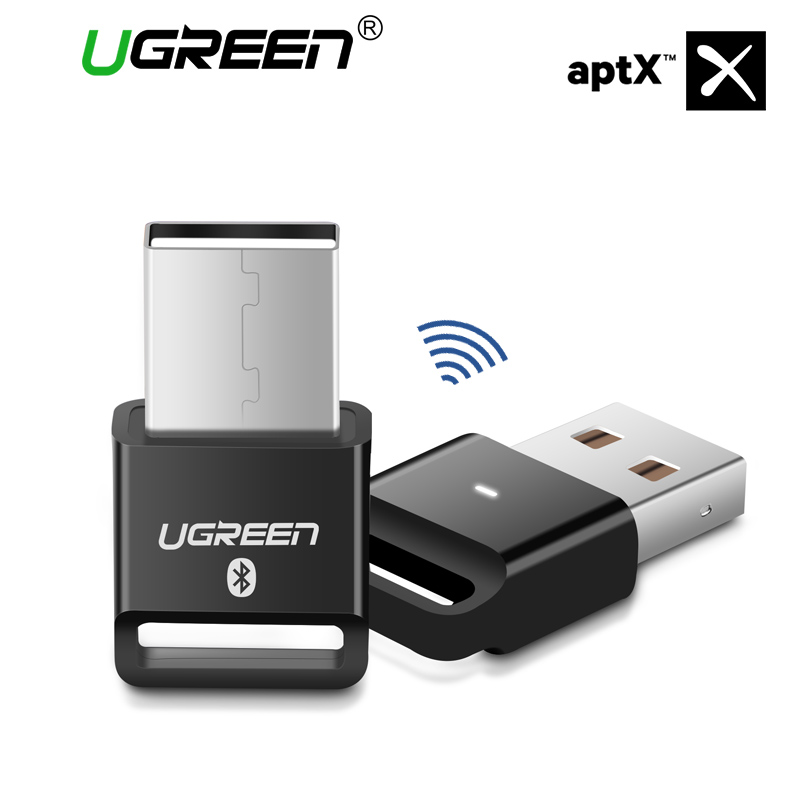 Ugreen Bluetooth Adapter Usb Dongle For Pc Computer Wi-fi Mouse Bluetooth Speaker 4.zero Music Receiver Usb Bluetooth Adapter