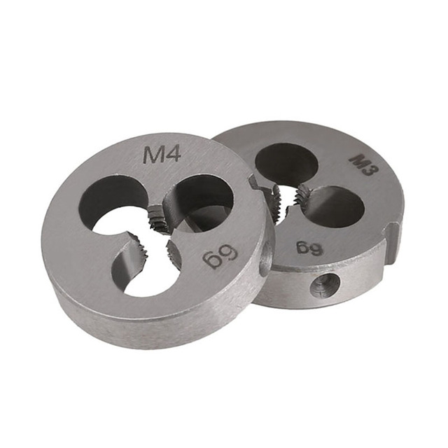 Die M2 M3 M4 M5 M6 M7 M8 M9 M10 M11 M12 M13 M14 M15 M16 M17 M18 M20 Metric Right Hand Die Threading Tools For Mold Machining 1