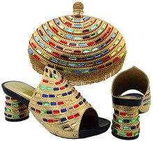 Schuhe und Tasche Zu Passen Italienische African Schuh und Tasche Set für Party In Frauen Italienische Passende Schuh-und Taschensatz für Partie!! HJT1-3