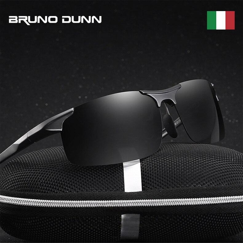 Image 2 - Bruno Dunn polarized Men sunglasses 2019 sunglases sports zonnebril mannen lunette soleil homme oculos de sol masculino aviador-in Men's Sunglasses from Apparel Accessories