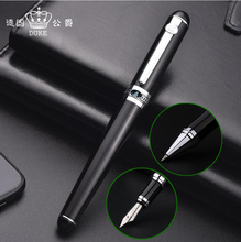Free Shipping New Arrival Duke D2 Brand Metal Ballpoint Pen Office Writing Business Signauture Gift Buy 2 Pens Send