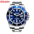 New Gladster Mens Watches Top Brand Luxury Diver 200M Super Luminous Sapphire Glass Automatic Mechanical Watch relogio masculino