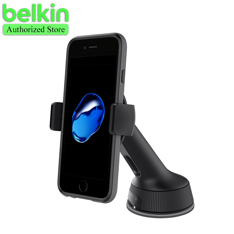 belkin original universal mobile phone holder dash window mount car bracket 360 degree rotation. Black Bedroom Furniture Sets. Home Design Ideas