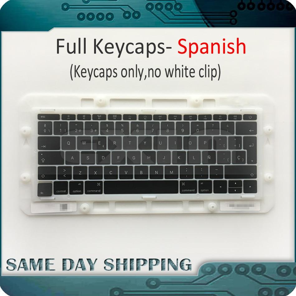Laptop A1706 A1707 A1708 Spanish Spain Keyboard Key Cap for Macbook Pro Retina 13 15 Keys