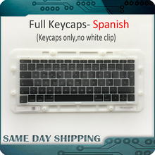 Laptop A1706 A1707 A1708 Spanish Spain Keyboard Key Cap for Macbook Pro Retina 13″ 15″ Keys Keycaps Late 2016 Mid 2017