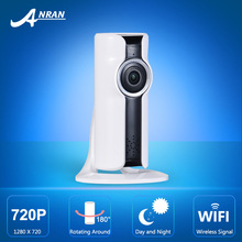 New!Mini Wifi VR IP Camera Wireless 720P HD Smart 180 panoramic Network Security CCTV Camera Home Protection Surveillance Camera