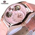 2017 Nova Chegou Mulheres De Luxo Assistir Horas de Relógio de Negócios de Máquinas Automáticas Senhoras Moda Casual Relógios Relogio feminino