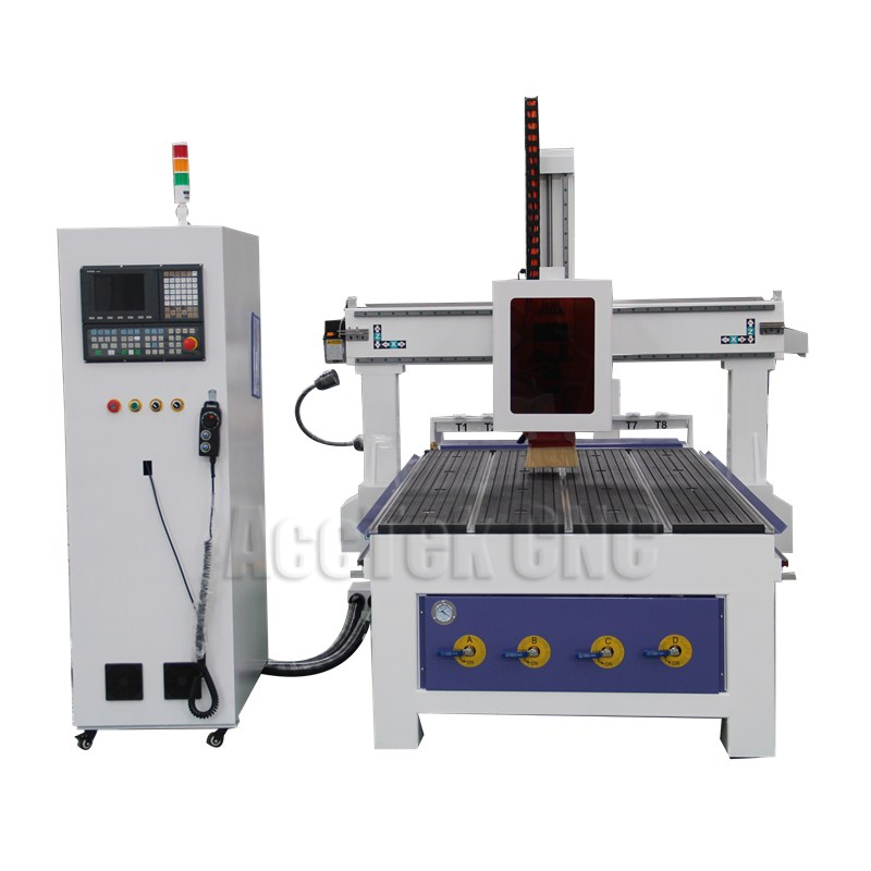 Automatic Central Centralized Lubrication System 1325 ATC 4-axis Carving Wood Cnc Cutter Router