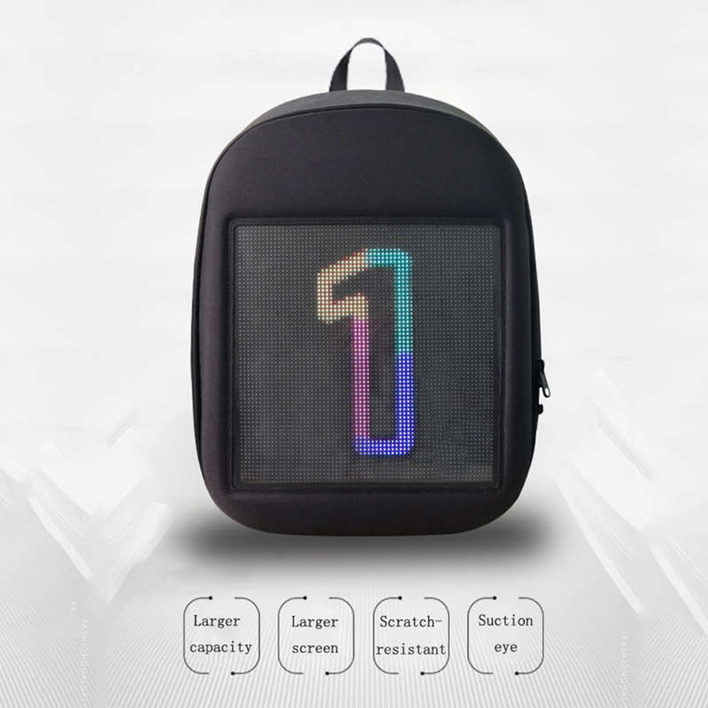 New LED Dynamic Backpack Highlights Personality and Leads Fashion in LED Panel Lights from Lights Lighting