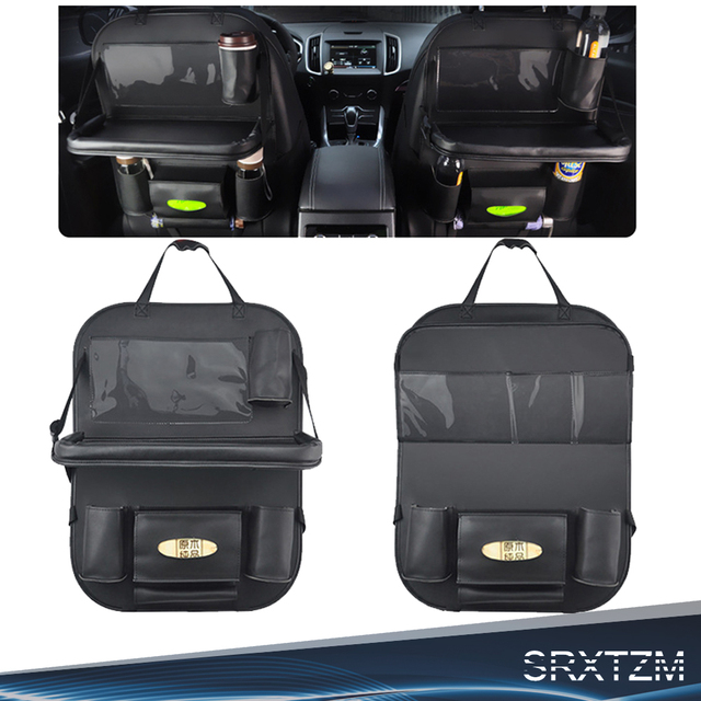 Car Trunk Storage Box Bag Organizer Auto Accessories Backseat Seat For Audi Q5 Peugeot