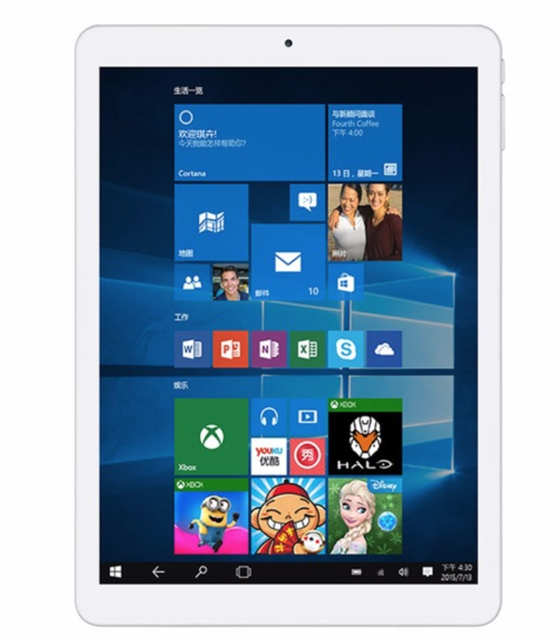 "Original Teclast X98 Plus II 9,7 ""Retina IPS 2048*1536 de arranque Dual Quad Core Tablet Windows 10 Home + Android 5,1 Dual OS 4 GB 64 GB"