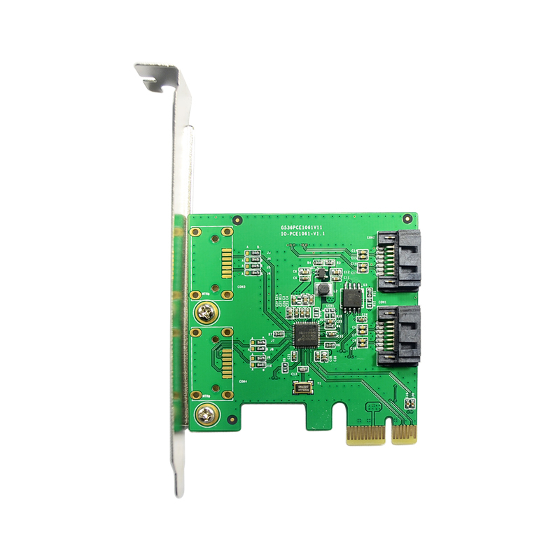 Good Quality 2 Internal Port SATA 3.0 6Gb/s RAID0 RAID1 SPAN PCI-Express RAID Controller Card Best Price original eicon diva server 4bri 8m pci 810 407 01 selling with good quality