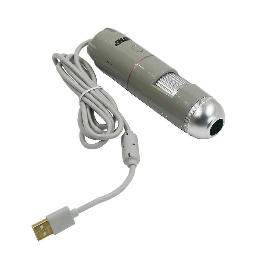 USB 5X-200X ذكي للكشف عن الجلد الذكية محلل البشرة تحليل الشعر كشف الجمال 8LED الرقمية فروة الرأس الشعر المجهر
