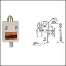 Switch travel limit switch 15A   Electrical Safety Key Interlock switch  Compact Prewired  switch  CZ-3102 double beam weight limiter lx4 31 lx4 32 heavy hammer type limit switch crane limit switch