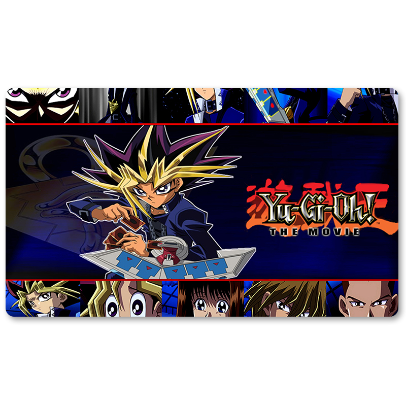 Many Playmat Choices - New YGO 2004 Movie Wallpaper - Yu-Gi-Oh! Playmat Board Game Mat Table Mat for YuGiOh Mouse Mat image