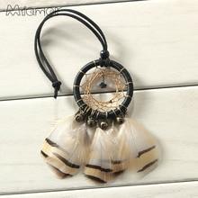 Small Bronze Bells Dreamcatcher & Wind Chimes Car Pendant & Home Decor & Wall Hanging Dream Catcher Regalo AMOR105
