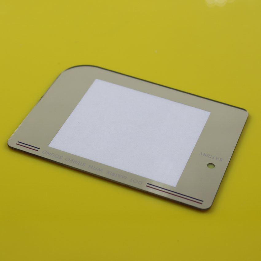 JCD 25pcs Gold Color Plastic screen Len protection panel for Nintendo Game Boy GB old thick game consoles