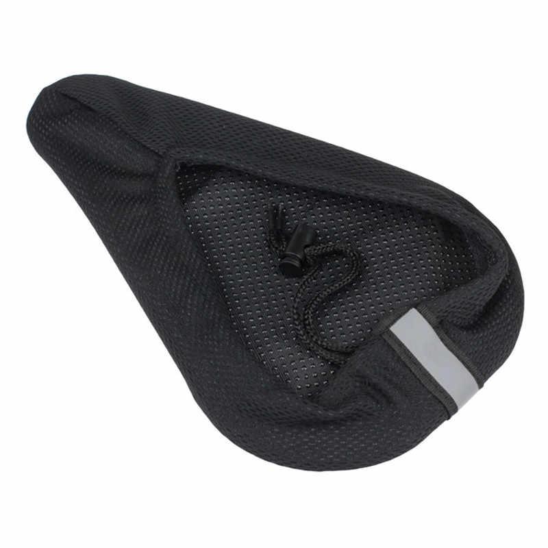 Hot Koop Fietsen Fiets 3D Slow Play Siliconen Gel Pad Seat Zadelhoes Zachte Ultra-ademend Comfortabel Kussen Laagste prijs