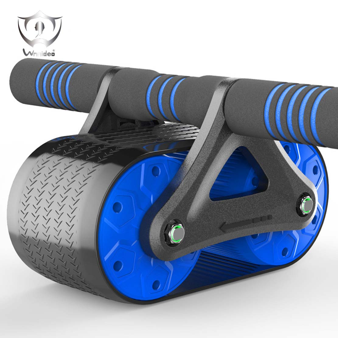 Double Abdominal Wheel Male Female Fitness Equipment Household Body-building Wheel Roller Reduce Belly Rebound ZS8-51