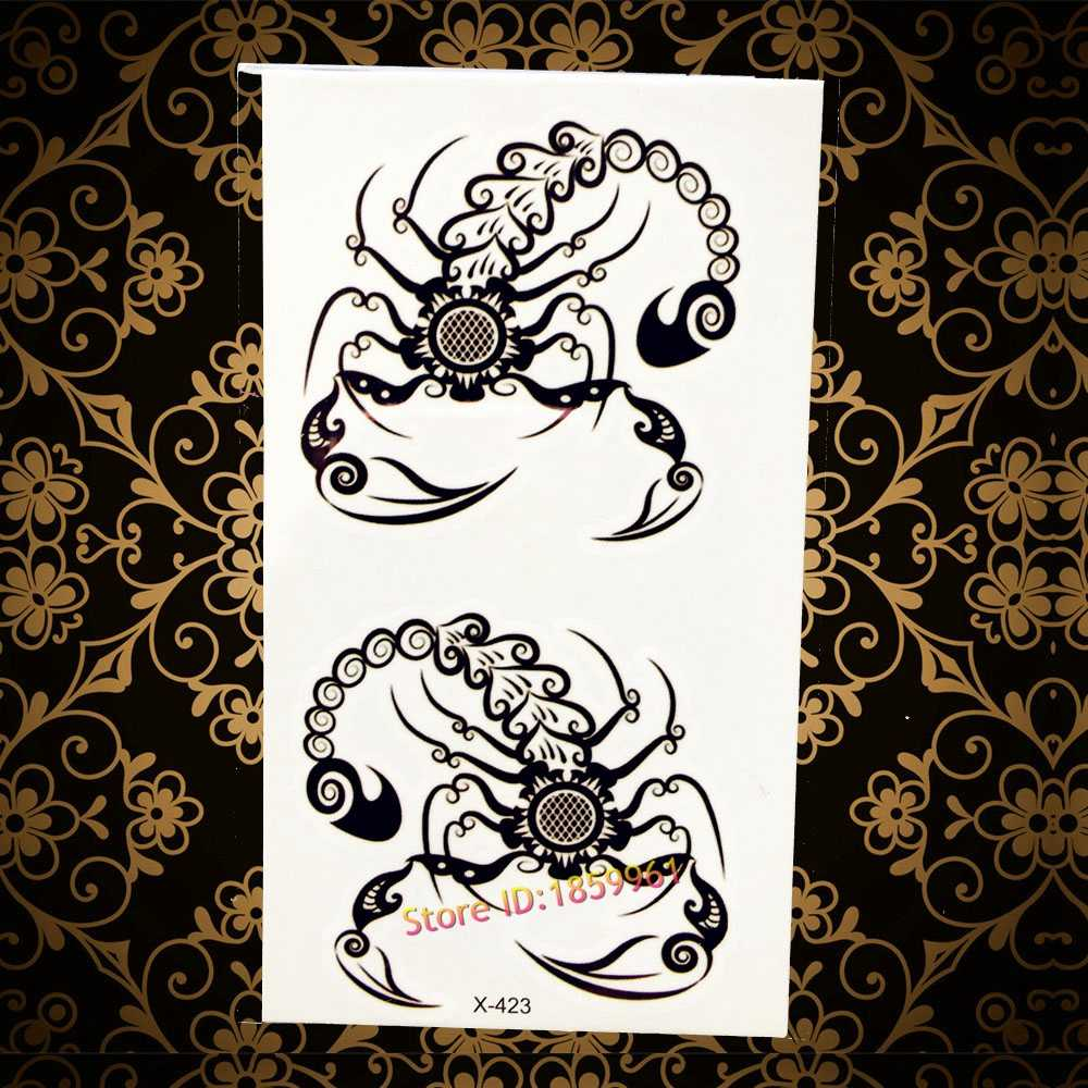 3d dragon head tattoo sticker sketch black chinese dragon painting designs cool temporary tattoo stickers for