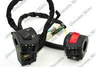 1 Pair Fog Light Emergency Light Motorcycle Switch Power 12V Universal Motorcycle Bike ATV Dirt 7