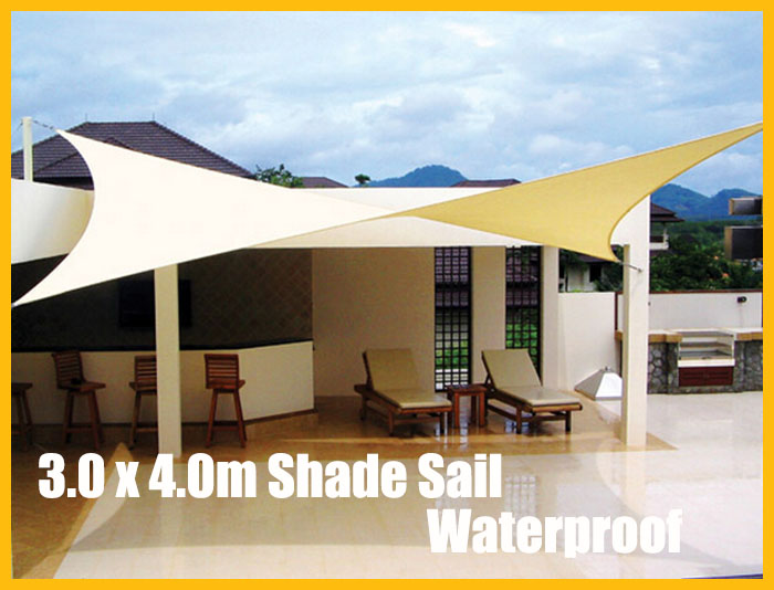 Compare prices on outdoor shade sail online shopping buy for Shade sail cost