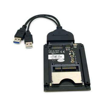 "10pcs/lot Chenyang  SATA 22 Pin to USB 3.0 to CFast Card adapter 2.5"" Hard Disk Case SSD HDD CFast Card Reader for PC Laptop"