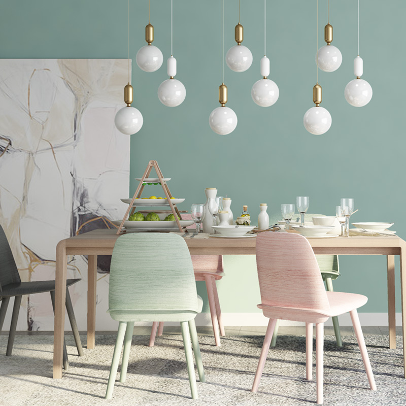 Us 18 99 35 Off Blue Green Solid Color Wallpaper Sticker Modern Simple Peel And Stick Wallpapers Roll Living Room Bedroom Sticky Stickers Qt113 In