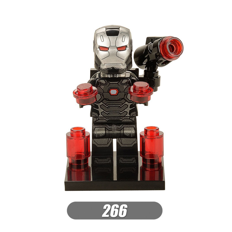 For legoing Marvel Super Heroes Avengers War Machine Hulk Thanos Iron Man Spider Man Doctor Strange Building Blocks Toys Figures