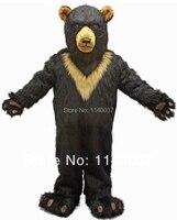 mascot EMS FREE SHIPPING! Burly Black Bear Mascot Costume