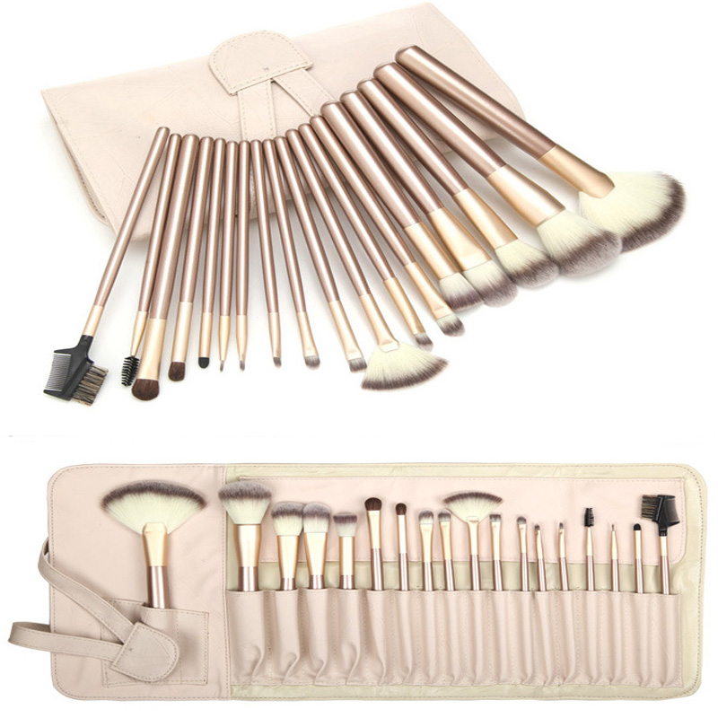 18 Pcs make up brushes Professional tool kit makeup Cosmetic set brushes Foundation Brush for Makeup set kit pinceis maquiagem msq 15pcs professional makeup brushes set foundation fiber goat hair make up brush kit with pu leather case makeup beauty tool