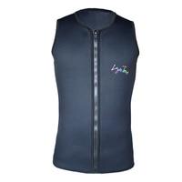 Layatone Black Men Women 3mm Neoprene Wetsuit Vest For Diving Spearfishing Water Skiing K1602U