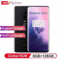 ROM globale originale Oneplus 7 PRO 6 GB 128 GB Smartphone Snapdragon 855 NFC 6.67 pouces fluide AMOLED affichage d'empreintes digitales UFS 3.0