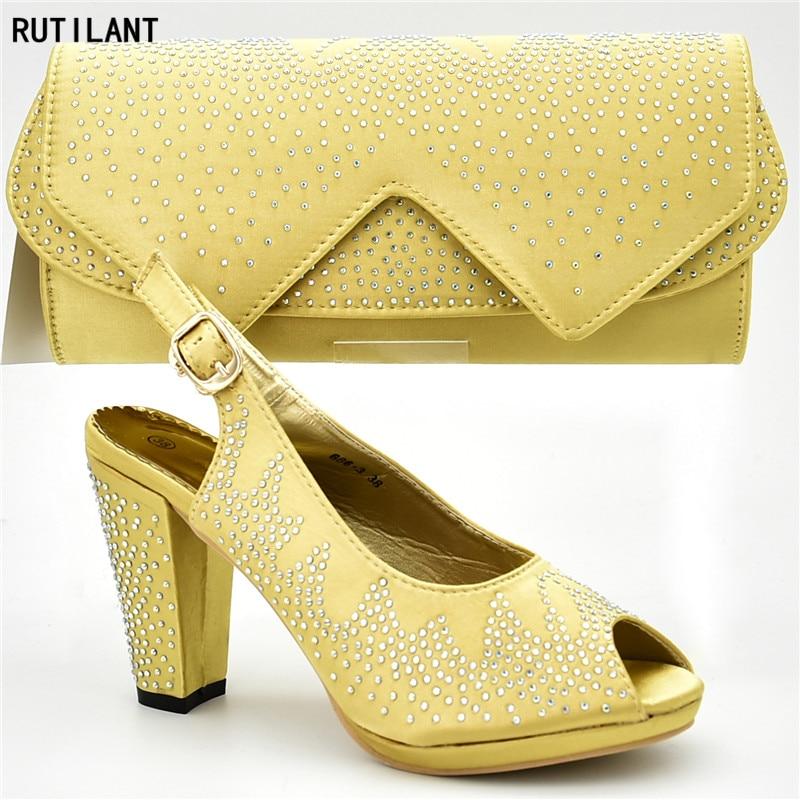 Para Y Decorado La Mujer Con Última fuchsia Diamantes Zapatos Azul Imitación green Bolso Bolsa Boda oro Italiano Zapato De qwAOw4