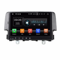 Android 8.0 octa core 4GB RAM car dvd player for HONDA CIVIC 2016 ips touch screen head units tape recorder radio gps